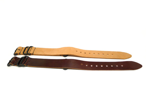 24mm Horween Shell Cordovan Strap 2x Pack - Set 24-4