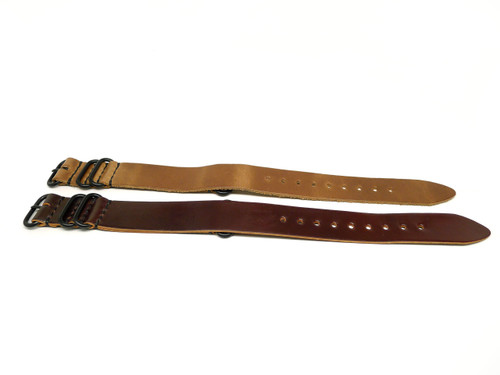 24mm Horween Shell Cordovan Strap 2x Pack - Set 24-7