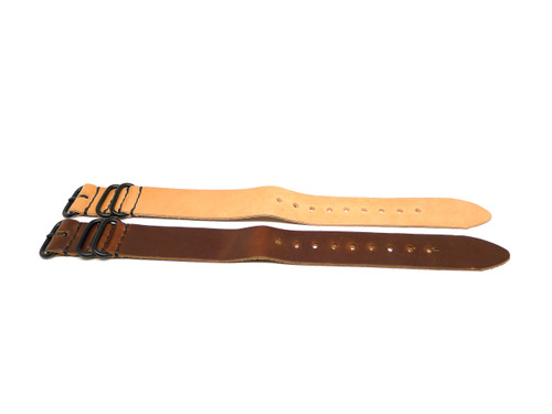 24mm Horween Leather Strap 2x Pack - Set 24-15