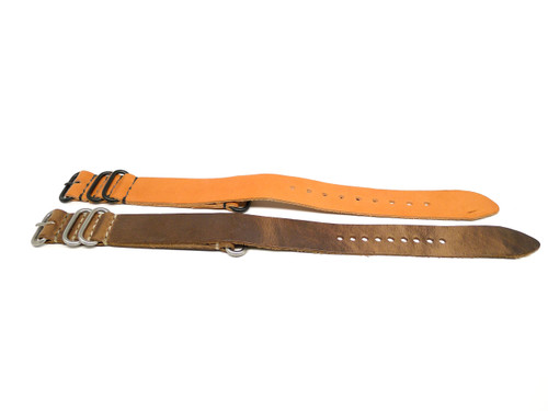 24mm Horween Leather Strap 2x Pack - Set 24-18
