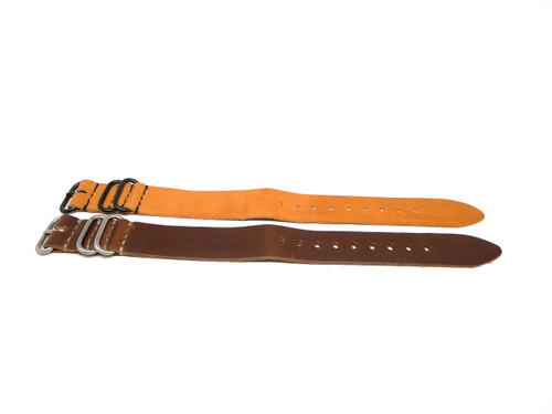 24mm Horween Leather Strap 2x Pack - Set 24-19
