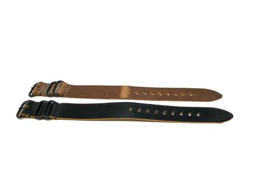 24mm Horween Shell Cordovan Strap 2x Pack - Set 24-31