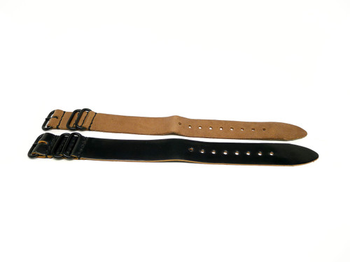 26mm Horween Shell Cordovan Strap 2x Pack - Set 26-2