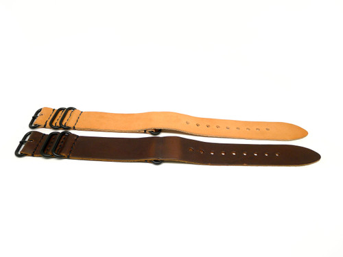 26mm Horween Leather Strap 2x Pack - Set 26-12