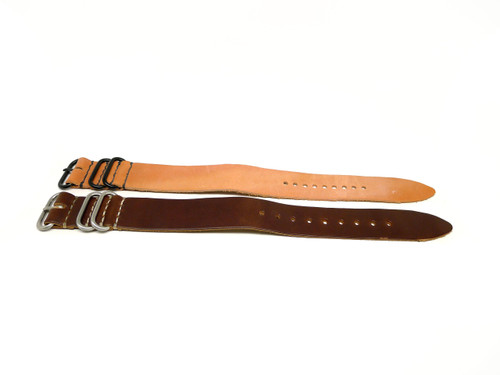 26mm Horween Leather Strap 2x Pack - Set 26-13