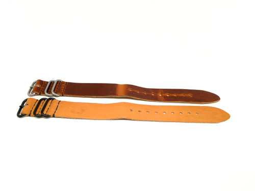 26mm Horween Leather Strap 2x Pack - Set 26-14