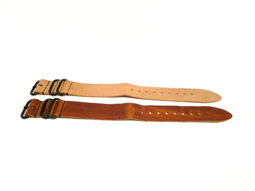 26mm Horween Leather Strap 2x Pack - Set 26-26