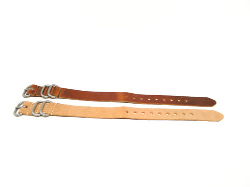 18mm Horween Leather Strap 2x Pack - Set 18-23
