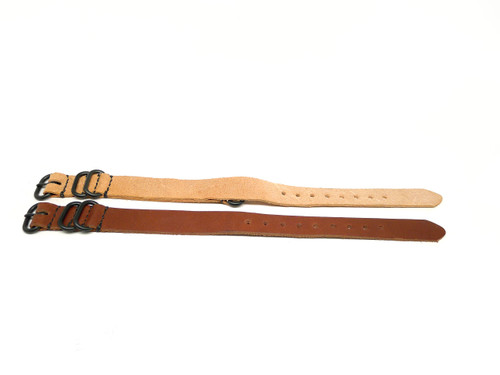 18mm Horween Leather Strap 2x Pack - Set 18-30