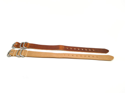18mm Horween Leather Strap 2x Pack - Set 18-32
