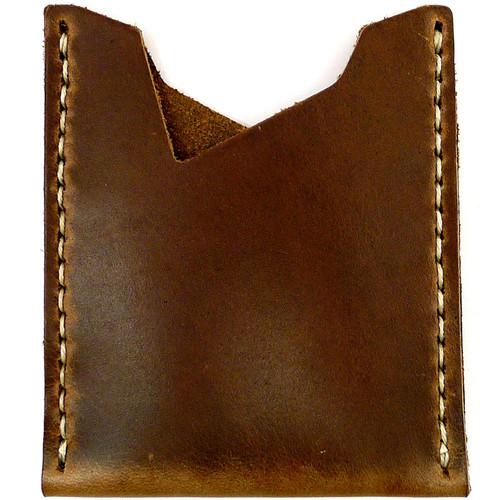 Leather Stash Wallet - Natural Chromexcel