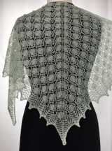 Victorian Pennies shawl pattern