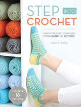 Step into Crochet book by Robin Strong