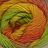 Jawoll Magic 4-ply Superwash sock yarn in Citrus shade