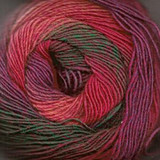 Jawoll Magic 4-ply Superwash sock yarn in Flower shade
