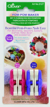 Clover Extra Small Pom Pom Makers