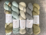 Sock yarn from West Green Loft Yarns