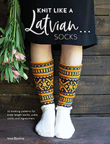 Knit like a Latvian: Socks by Ieva Ozolina