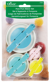 Clover Pom Pom Maker set (small and large)