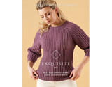 Belle Raglan Sweater by Chloe Elizabeth Birch