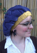 Winter Warmers - Beret pattern from OneHandKnits