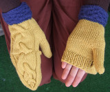 Winter Warmers - Mittens pattern from OneHandKnits