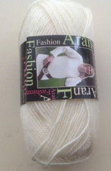 King Cole Fashion Aran yarn in Natural