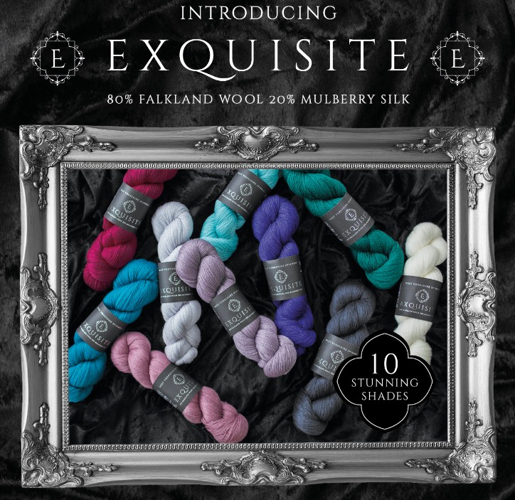 Exquisite Lace Yarn from West Yorkshire Spinners