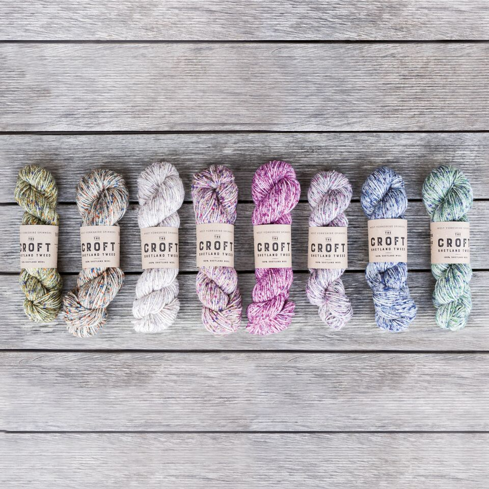 The Croft Shetland Tweed from West Yorkshire Spinners