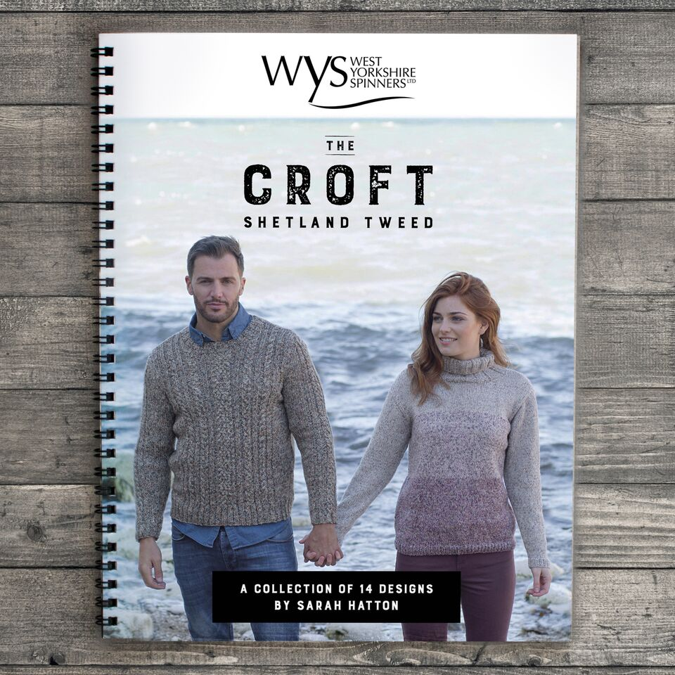 The Croft pattern book by Sarah Hatton