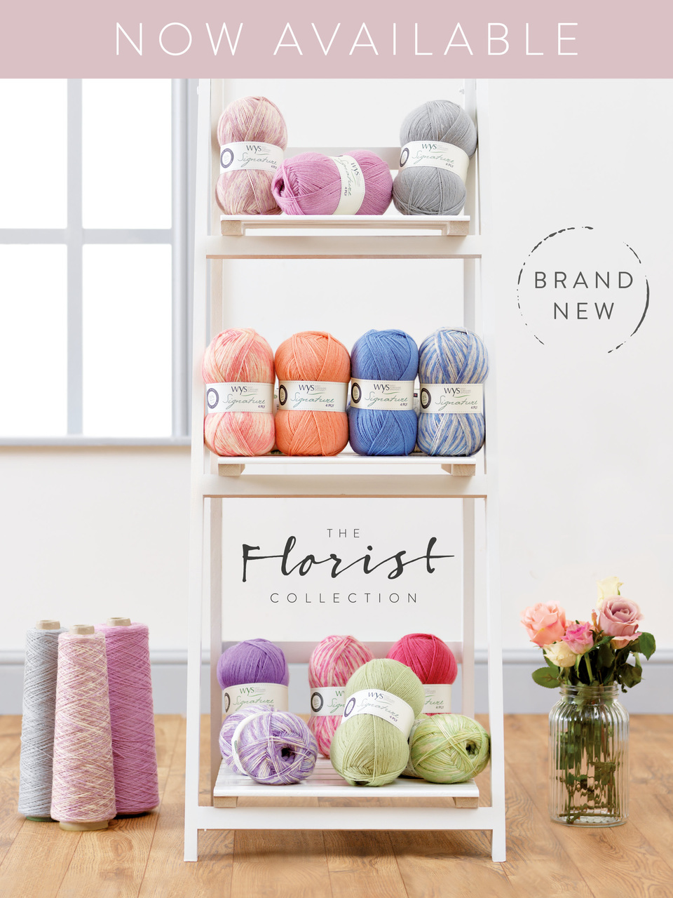 The Florist Collection Signature 4-ply  from West Yorkshire Spinners