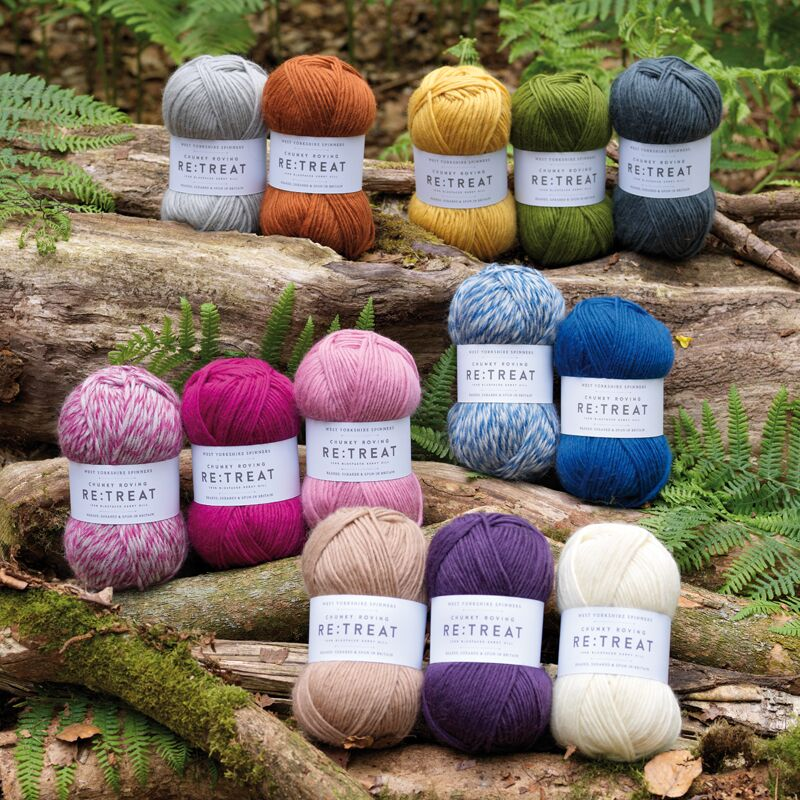 RE:TREAT Chunky Roving from West Yorkshire Spinners
