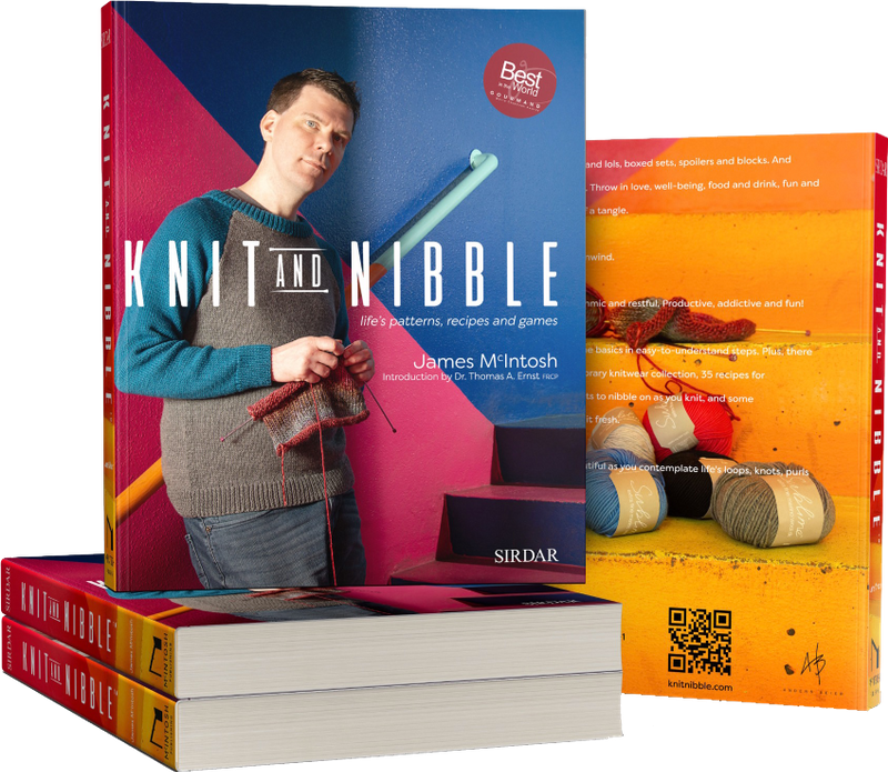Knit and Knibble by James McIntosh