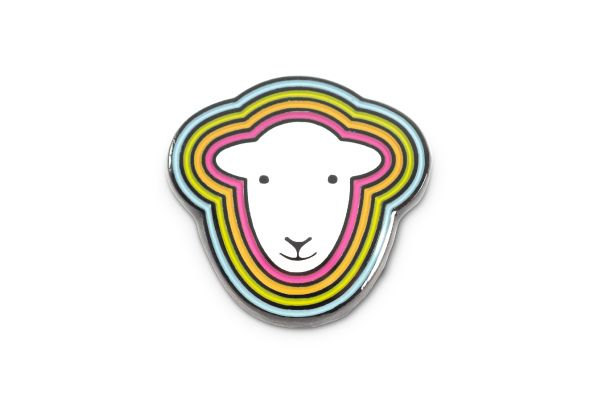 Herdy Head Pin Badge