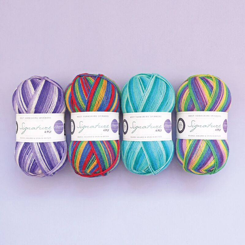 Winwick Mum Signature 4-ply from West Yorkshire Spinners