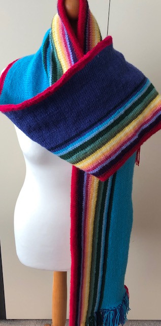 Who is She? Scarf pattern from Tracie Kilbey Designs