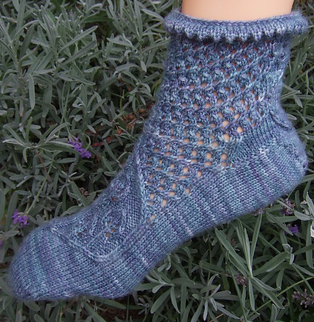 These Feet are Smokin' Socks pattern by OneHandKnits
