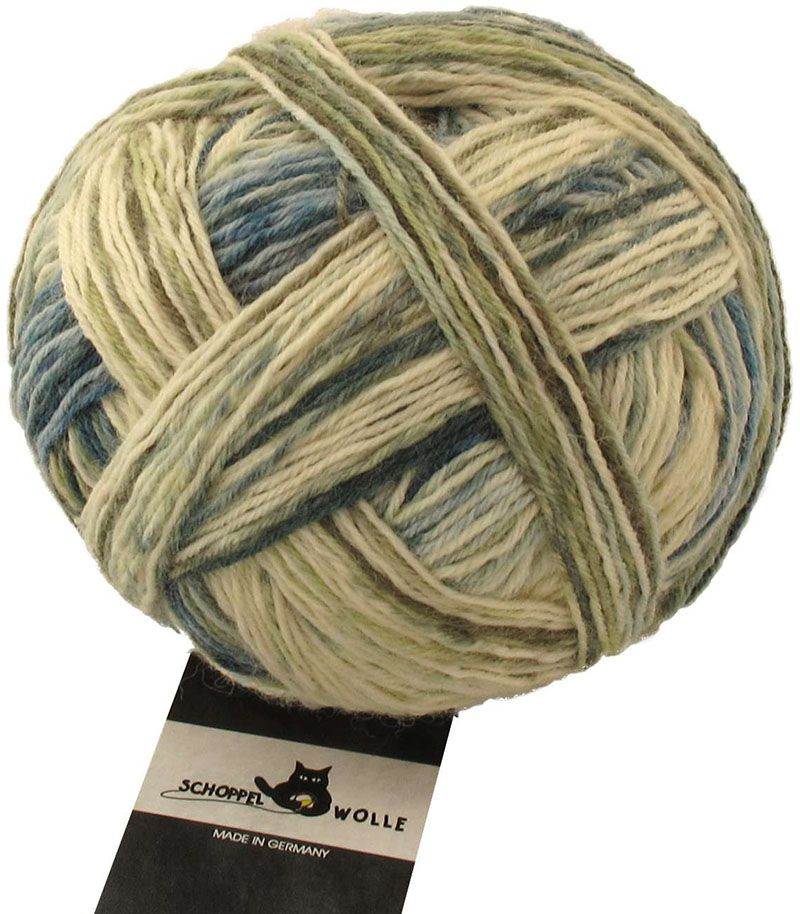 Wunderklecks sock yarn from Schoppel Wolle
