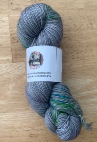 A break in the storm yarn from Bellica Yarns