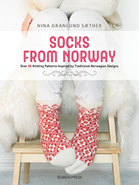Socks from Norway by Nina Granlund Saether