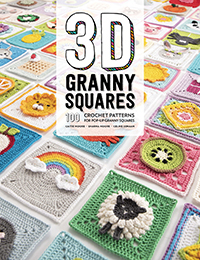 3D Granny Squares -100 Patterns for Pop-up Granny Squares