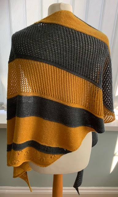 Sunshine After the Rain Shawl pattern by Tracie Kilbey