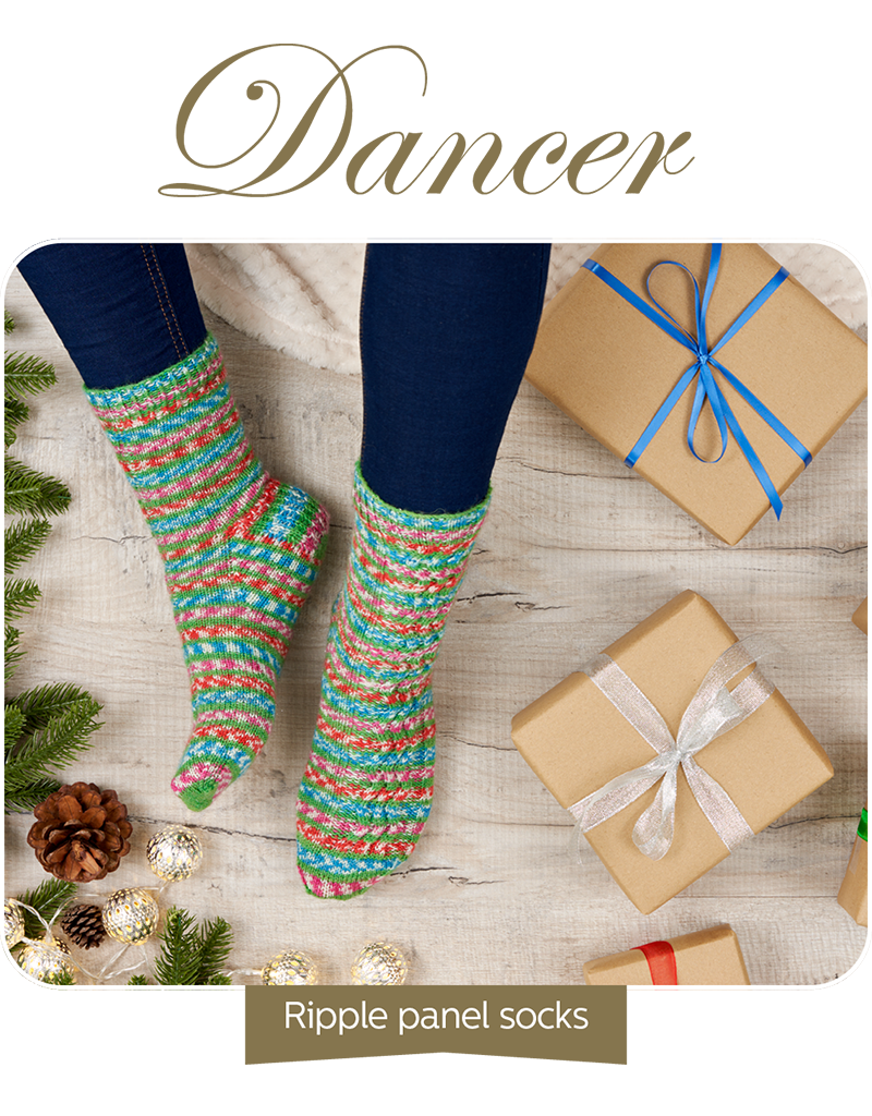Signature 4-ply : Christmas Socks Collection 1 by Winwick Mum