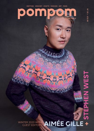 Pom Pom Quarterly Magazine Issue 35 Winter 2020