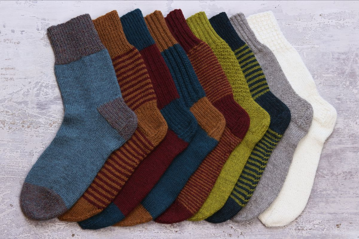 One Sock Pattern and Guide book by Kate Atherley for The Fibre Company