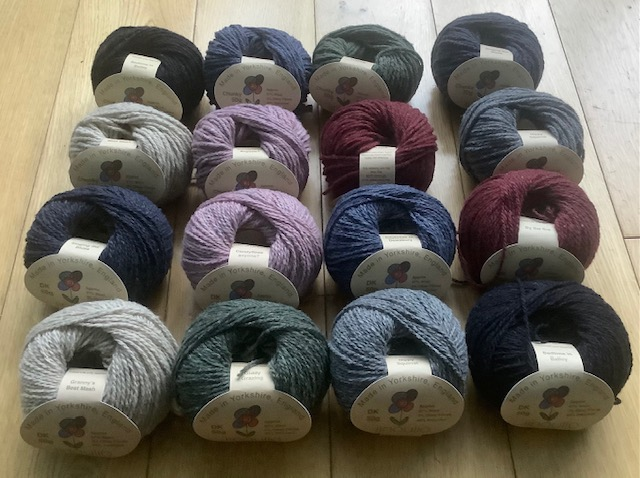 DK yarn for hand knitting from iinouiio