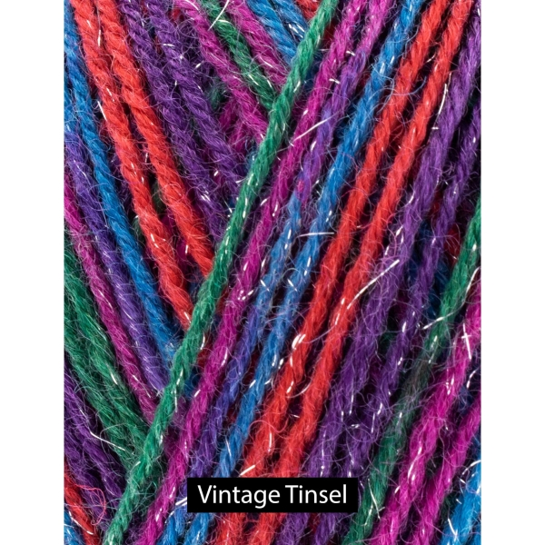 Signature 4-ply sparkle in Vintage Tinsel from West Yorkshire Spinners