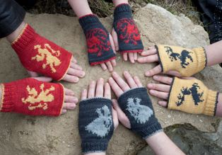 Game of Thrones Inspired Mitts: House Stark