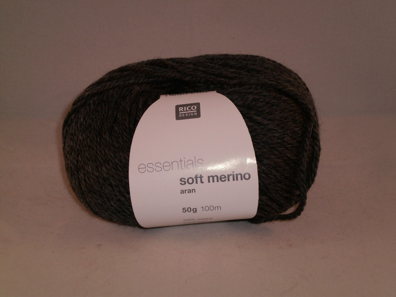 Rico Essentials Soft Merino Aran in Grey