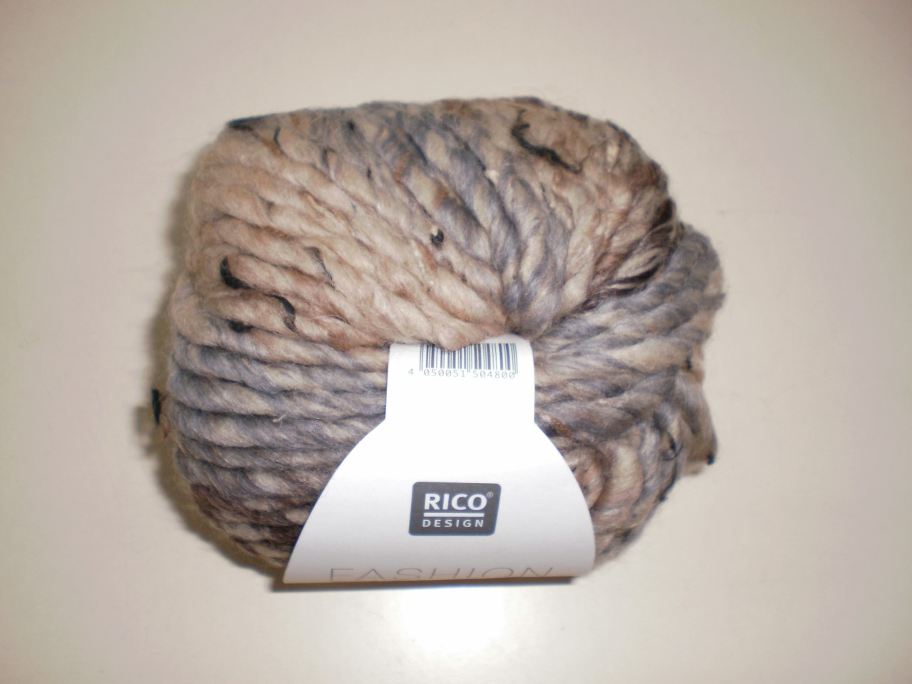 Rico Fashion Tweed Super Chunky in Natural